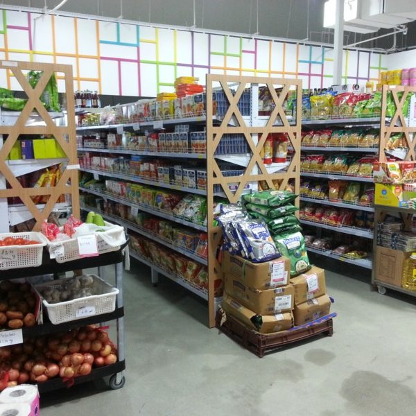 gondola shelving for grocery store