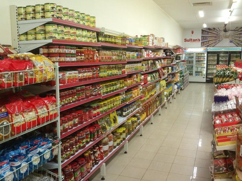 gondola shelving for grocery store