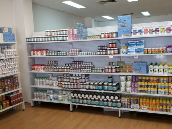 pegboard shelving for chemist