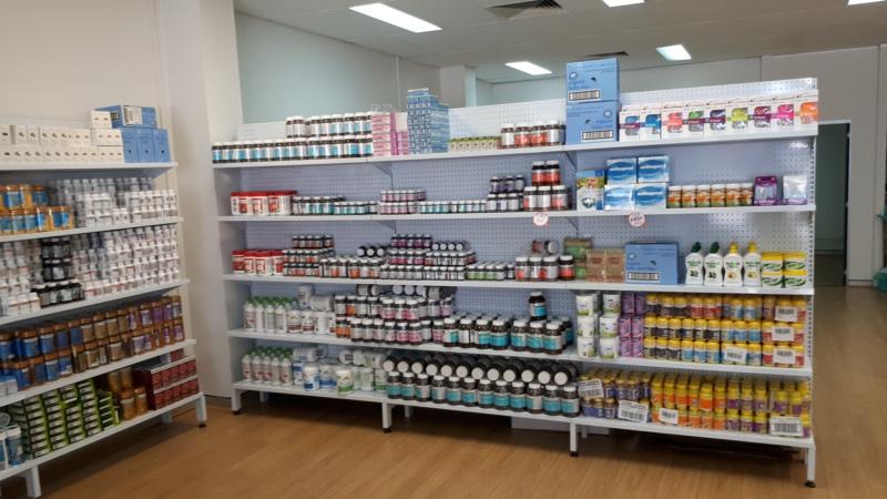 pegboard shelving for chemist