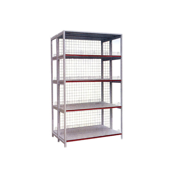 supermarket shelving double side