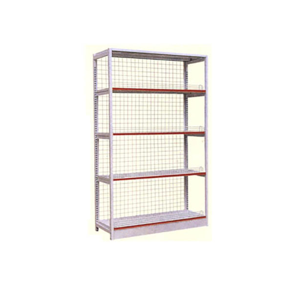 supermarket shelving single side